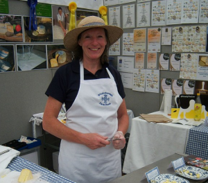 sue at cornwall show